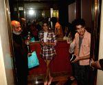Janhvi Kapoor, Ishaan Khatter seen at a hotel in Bandra