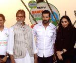 """Rashtriya Swachhta Diwas"""" - John Abraham and Amitabh Bachchan"""
