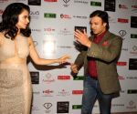 Kangana Ranaut and Vivek Oberoi during the Unveiling Indian Resort wear Fashion Calendar 2014