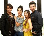"Promotion of show ""Kasautii Zindagii Kay"" -Karanvir Bohra, Teejay Sidhu, Mahhi Vij and Jay Bhanushali"