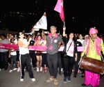 Pinkathon flag off