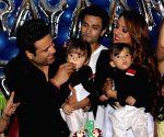 Krushna Abhishek and Kashmera Shah host birthday party for their twins