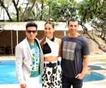 "Promotion of film ""Satyameva Jayate"" - Manoj Bajpayee, Aisha Sharma and John Abraham"