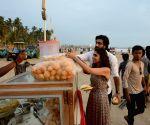 """Film """"Malaal"""" promotion at Juhu beach - Meezaan Jaffrey, Sharmin Segal"""
