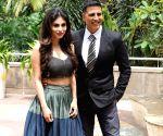 """Promotion of film """"Gold"""" - Mouni Roy and Akshay Kumar"""