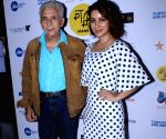 "Red carpet Film ""The Hungry"" - Naseeruddin Shah and Tisca Chopra"