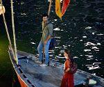 Brahmastra shooting - Ranbir Kapoor, Alia Bhatt