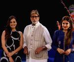 "Rashtriya Swachhta Diwas"" - Raveena Tandon, Dia Mirza and Amitabh Bachchan"