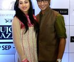 Ridhima Ghosh and Gaurav Chakrabarty during a programme