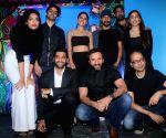 "Trailer launch of film ""Kaalakaandi"" - Saif Ali Khan, Sobhita Dhulipala, Isha Talwar, Akshay Oberoi, Deepak Dobriyal, Kunaal Roy Kapur and Akshat Verma"