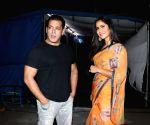 Salman Khan, Katrina Kaif, Emraan Hashmi attend puja at YRF studios before Tiger 3 shoot kickstarts on March 8