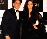 "Vogue Women Of The Year"" 2017-Shah Rukh Khan and Aishwarya Rai Bachchan"