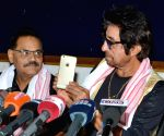Shakti Kapoor during a press conference