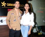 Launch of  Carnival cinema Lounge - Sidharth Malhotra and Rakul Preet Singh