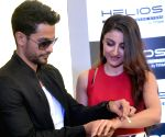 Inauguration of Helios flagship store - Soha Ali Khan and Kunal Khemu