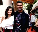 Check out Vicky Kaushal's witty comment on Taapsee Pannu's latest post!