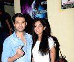 Vatsal Sheth, Ishita Dutta seen at a Juhu cinema hall
