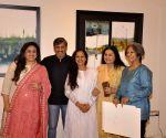 Amole Palekar painting exhibition