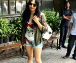 Adah Sharma seen at a Bandra cafe