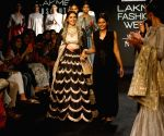 Aditi Rao Hydari walks the ramp for Jayanti Reddy at LFW Winter Festive 2017