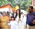 Aishwarya Rai seen at Ramakrishna Mission