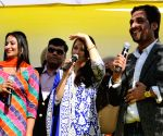 Aishwarya Rai Bachchan at the inauguration of a showroom