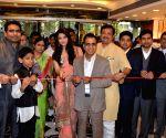 Aishwarya Rai Bachchan during inauguration of a jewellery showroom