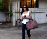 Ameesha Patel seen at a salon
