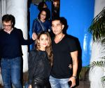 Amrita Arora seen at a Bandra restaurant