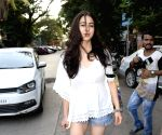 Amrita Singh and Sara Ali Khan seen at a salon