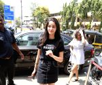 Ananya Pandey seen at Bandra