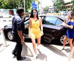 Ananya Pandey seen at Bandra