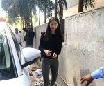 Ananya Pandey seen at Mumbai's Andheri