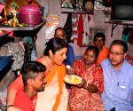 Locket Chatterjee visits Mamata Banerjee's constituency