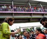 BJP-Congress workers clash at Matondkar's rally