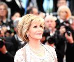 Actress Jane Fonda at Cannes