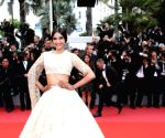 Actress Sonam Kapoor at Cannes