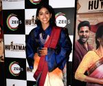 "Vaibhav Tatwawaadi, Anjali Patil at web series ""Hutatma"" screening"