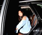 Athiya Shetty seen at a salon