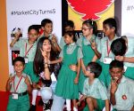 Athiya Shetty attend 5th anniversary celebration of Phoenix Marketcity Kurla