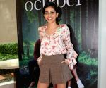 "Promotion of film ""October"" - Banita Sandhu"