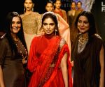 Lakme Fashion Week Winter/Festive 2017- Bhumi Pednekar