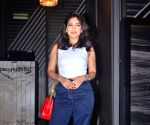 Bhumi Pednekar seen at Andheri