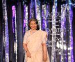 Bhumi Pendekar and Sharmila Tagore at Diacolor Savera Charity ball 2019, Fashion show by minu bakshi