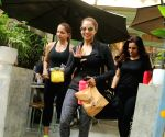 Bipasha Basu seen at a restaurant