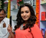 Catherine Tresa during a programme