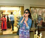 Chitrangada Singh seen at Mumbai's Bandra