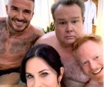 Free Photo: Courtney Cox's pics in hot tub with Beckham confuses Aniston