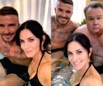 Courtney Cox's pics in hot tub with David Beckham confuses Jennifer Aniston