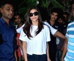 Daisy Shah seen at Mumbai's Bandra